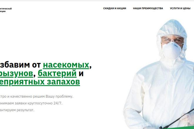 Скопирую страницу любой landing page с установкой панели управления 48 - kwork.ru