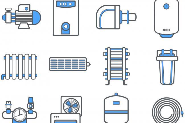 Создание иконок для сайта, приложения 63 - kwork.ru