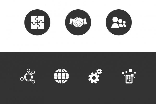 Создание иконок для сайта, приложения 53 - kwork.ru