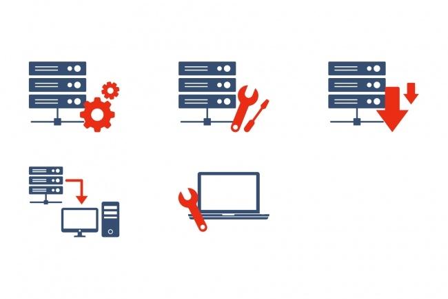 Создание иконок для сайта, приложения 52 - kwork.ru