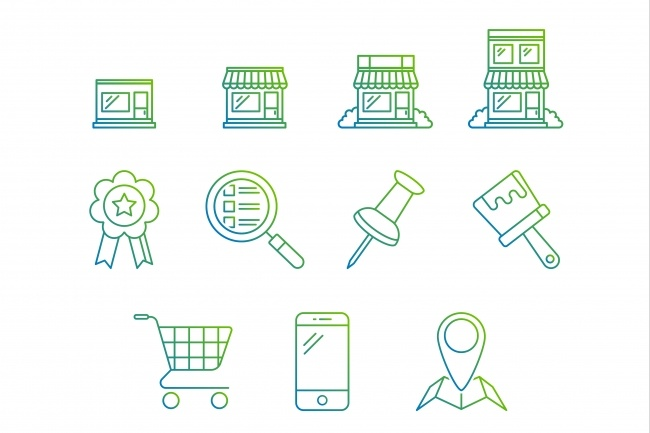 Создание иконок для сайта, приложения 50 - kwork.ru