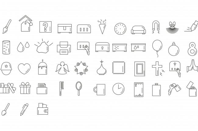 Создание иконок для сайта, приложения 62 - kwork.ru