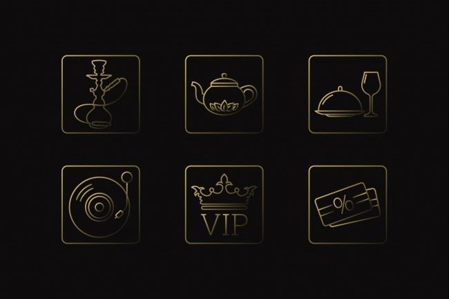 Создание иконок для сайта, приложения 46 - kwork.ru