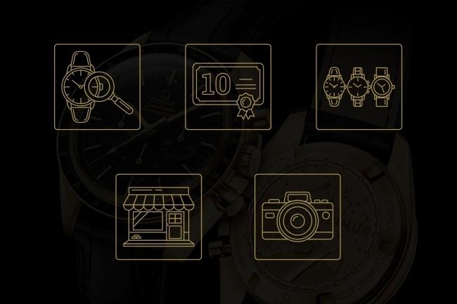 Создание иконок для сайта, приложения 45 - kwork.ru