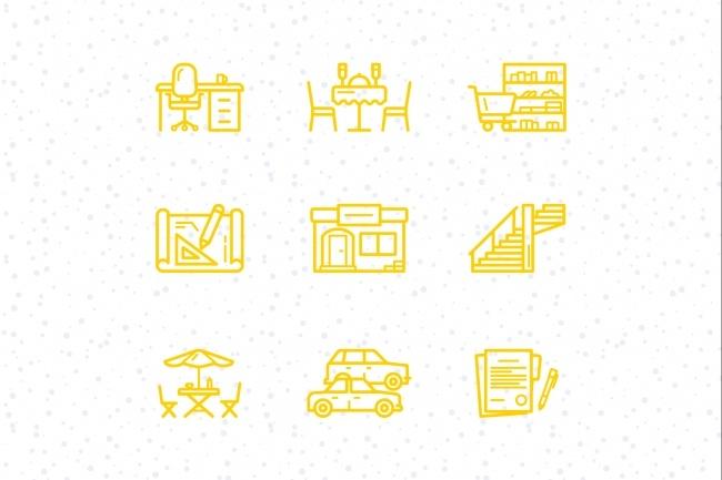 Создание иконок для сайта, приложения 40 - kwork.ru