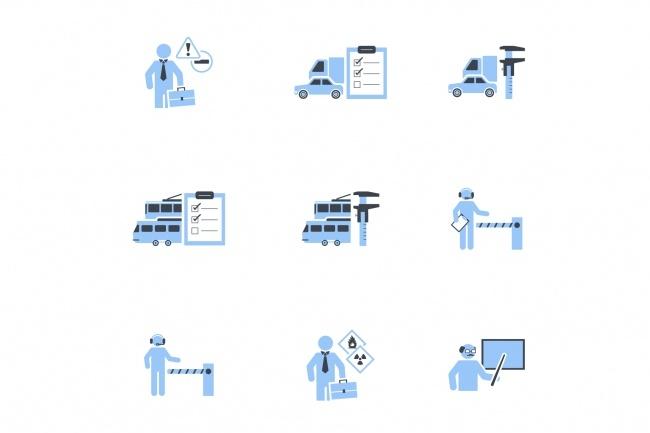 Создание иконок для сайта, приложения 37 - kwork.ru