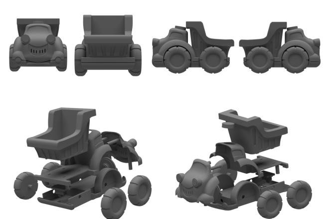 3D модели. Визуализация. Анимация 119 - kwork.ru