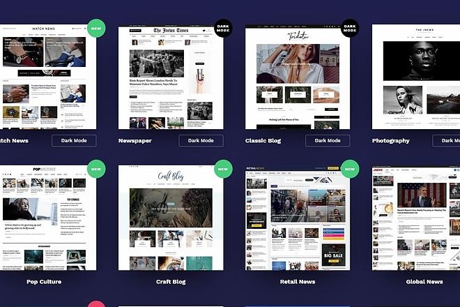 ПАК 1000 шаблонов и дополнений для WordPress 46 - kwork.ru