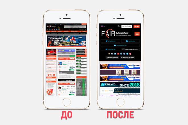 Адаптация сайта под все разрешения экранов и мобильные устройства 15 - kwork.ru
