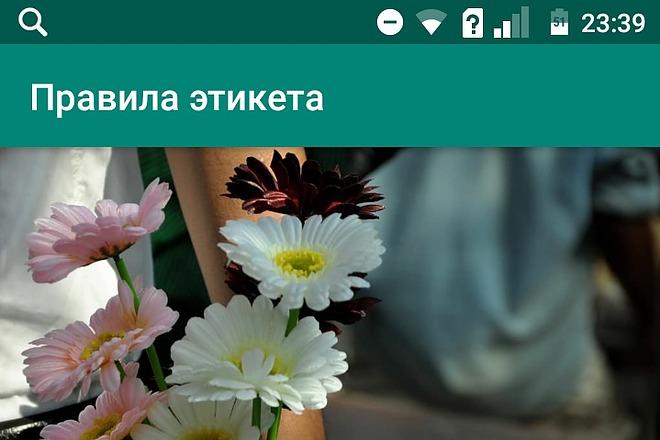 Создам android приложение 2 - kwork.ru