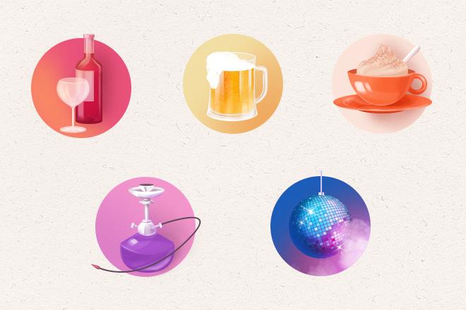 Нарисую эксклюзивную растровую иконку для вашего сайта 21 - kwork.ru