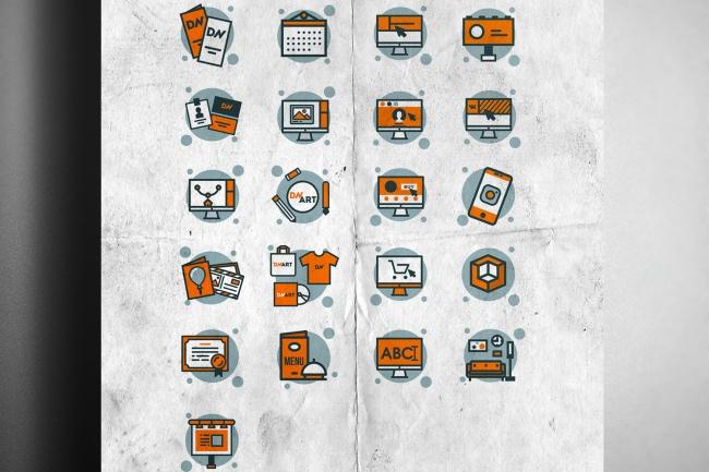 Сделаю 4 иконки 5 - kwork.ru