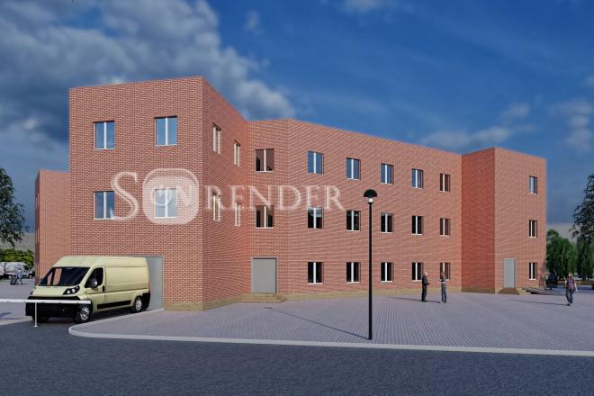 Фотореалистичная 3D визуализация экстерьера Вашего дома 35 - kwork.ru