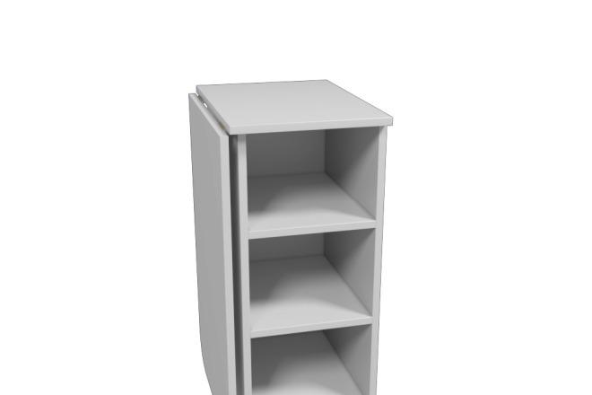 Визуализация мебели, предметная, в интерьере 1 - kwork.ru