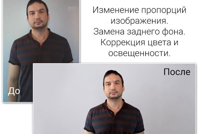 Удаление фона, дефектов, объектов 43 - kwork.ru