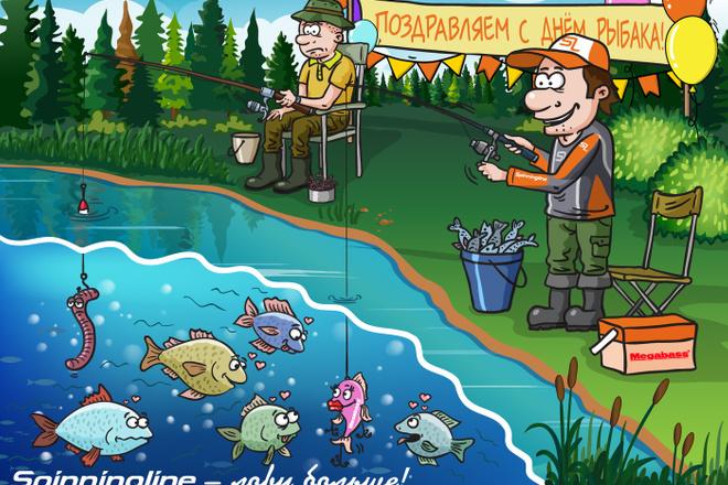 Нарисую для Вас иллюстрации в жанре карикатуры 46 - kwork.ru