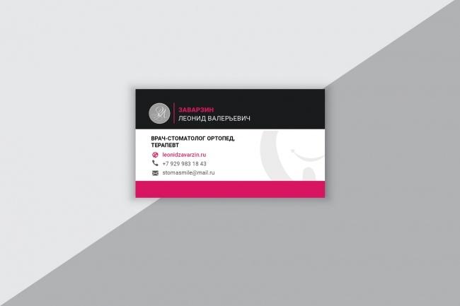 Разработаю макет визитки 53 - kwork.ru