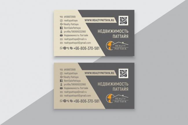 Разработаю макет визитки 49 - kwork.ru