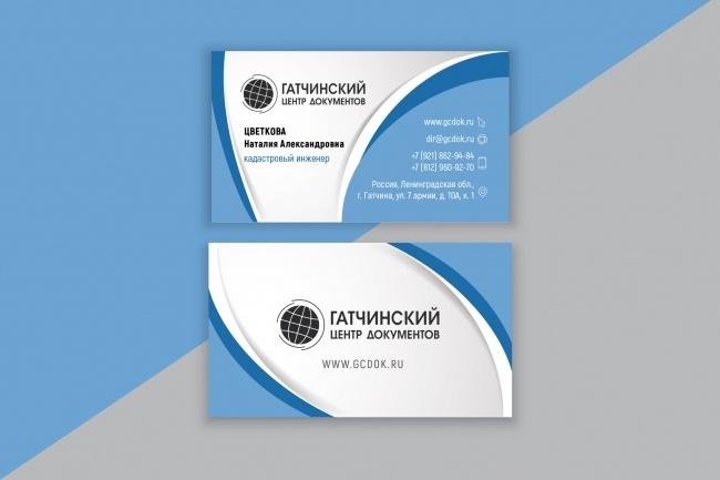 Разработаю макет визитки 44 - kwork.ru