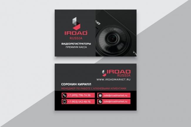 Разработаю макет визитки 43 - kwork.ru