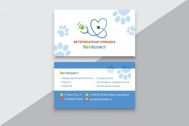 Разработаю макет визитки 34 - kwork.ru