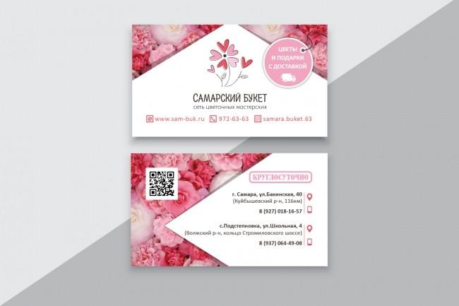 Разработаю макет визитки 15 - kwork.ru