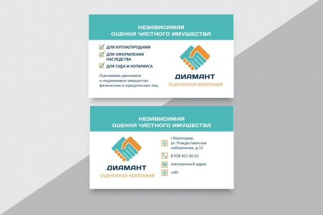 Разработаю макет визитки 22 - kwork.ru