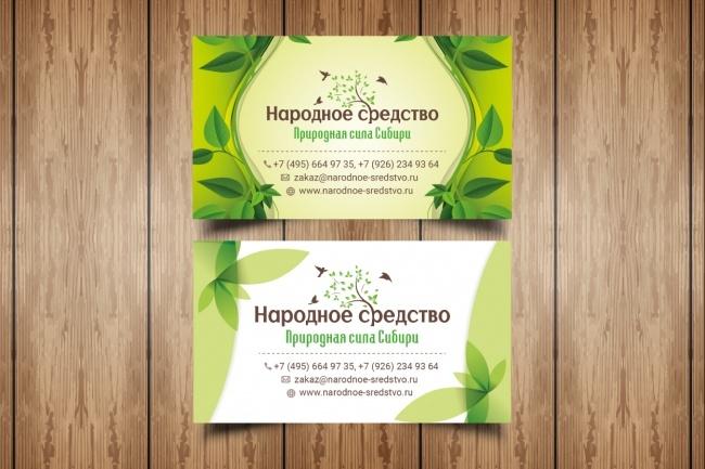 Разработаю макет визитки 88 - kwork.ru