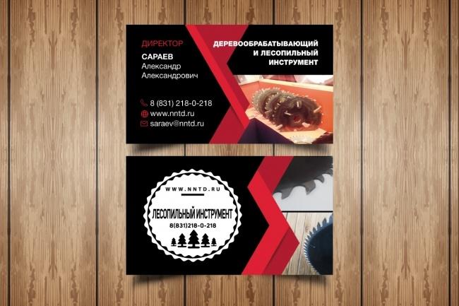 Разработаю макет визитки 87 - kwork.ru