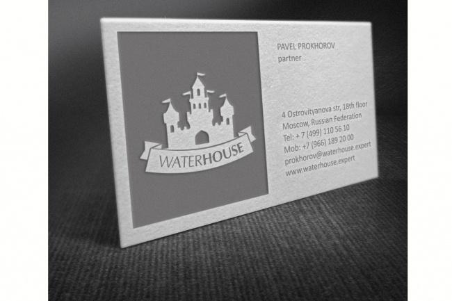 Разработаю макет визитки 65 - kwork.ru