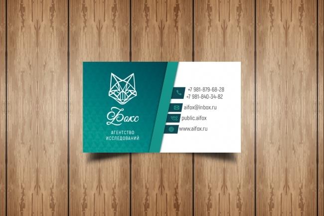 Разработаю макет визитки 69 - kwork.ru