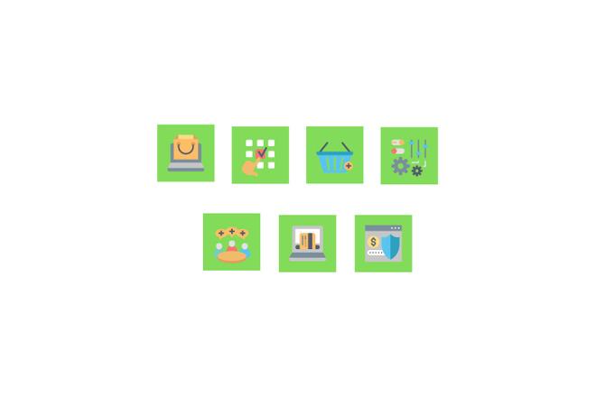 Создам 5 иконок в любом стиле, для лендинга, сайта или приложения 30 - kwork.ru