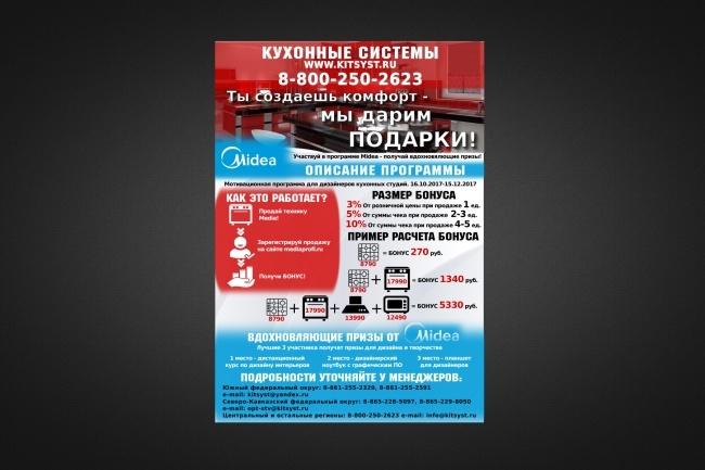 Листовки, флаеры, которые обращают на себя внимание 51 - kwork.ru