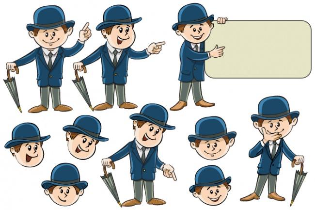 Нарисую иллюстрацию с одним персонажем 23 - kwork.ru