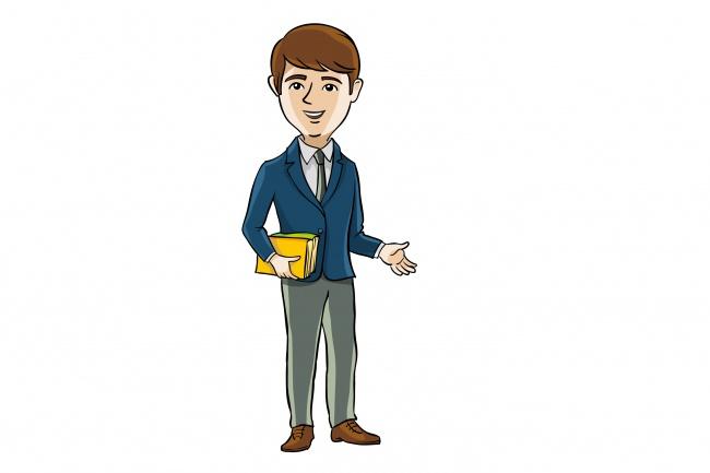 Нарисую иллюстрацию с одним персонажем 27 - kwork.ru