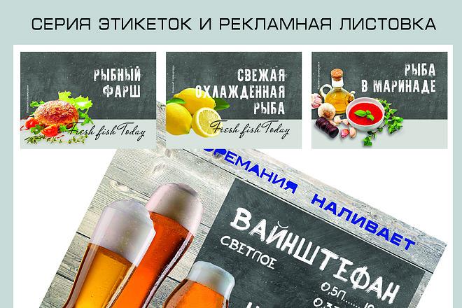 Дизайн упаковки, этикеток, пакетов, коробочек 9 - kwork.ru