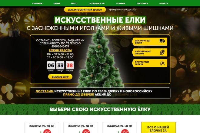 Копия сайта, landing page + админка и настройка форм на почту 103 - kwork.ru