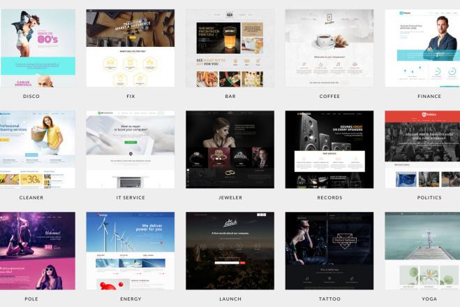 ПАК 1000 шаблонов и дополнений для WordPress 8 - kwork.ru