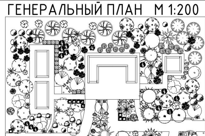 Сделаю ландшафтный дизайн участка 1 - kwork.ru