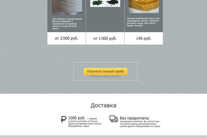 Сделаю копию лендинг пейдж на Textolite 8 - kwork.ru