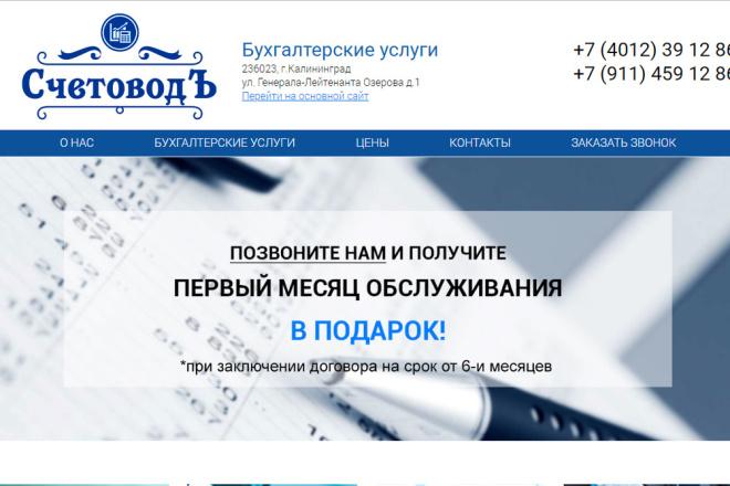 Скопирую Landing Page, Одностраничный сайт 96 - kwork.ru