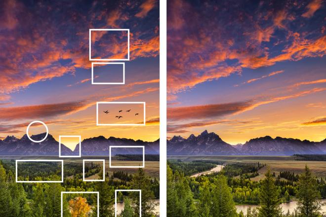 Создание картинок в стиле найди отличия 1 - kwork.ru