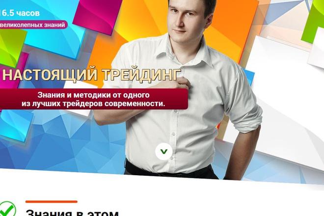 Скопировать Landing page, одностраничный сайт, посадочную страницу 34 - kwork.ru