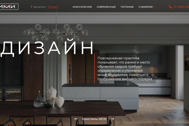 Сверстаю сайт по любому макету 153 - kwork.ru