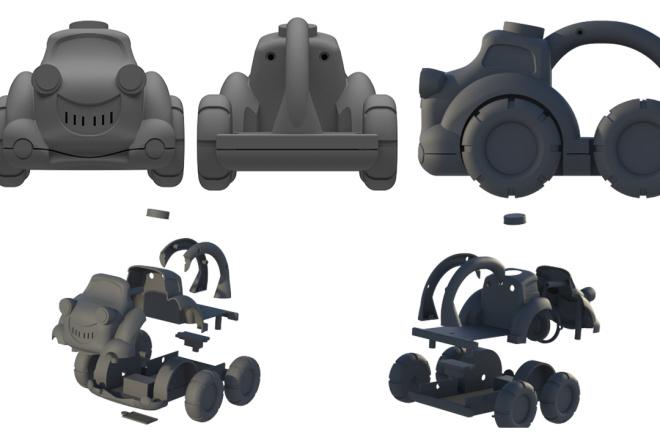 3D модели. Визуализация. Анимация 120 - kwork.ru