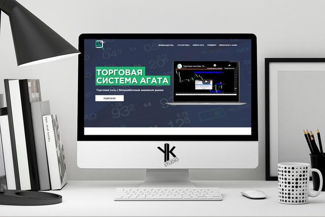 Лендинг под ключ, крутой и стильный дизайн 29 - kwork.ru