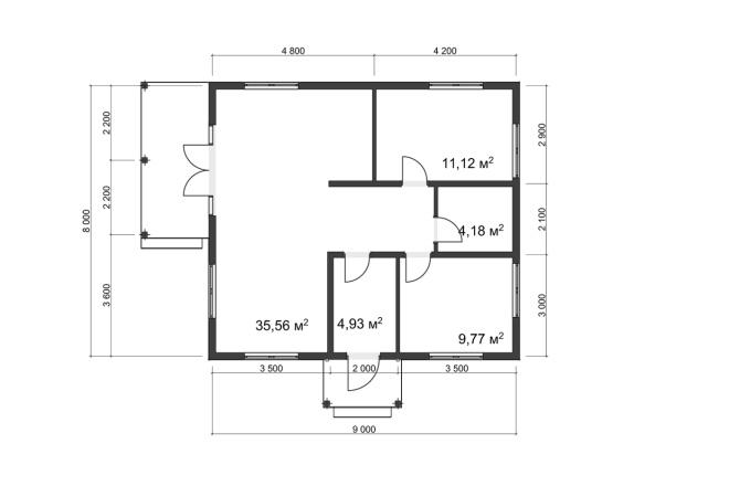 3д моделирование и визуализация экстерьеров домов 10 - kwork.ru