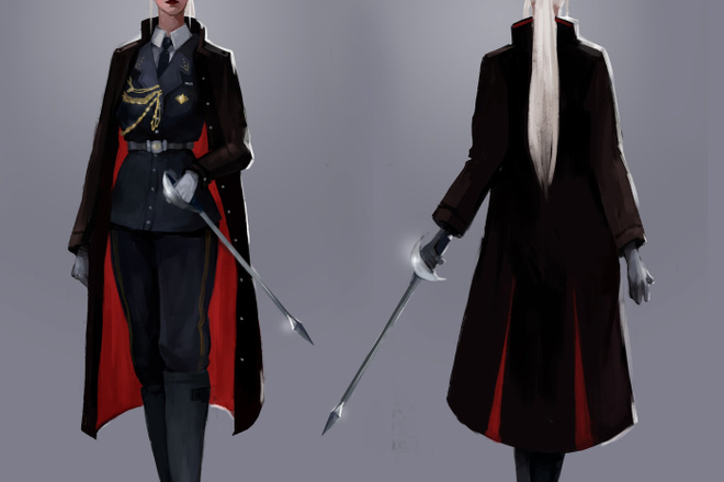 Концепт арт и Дизайн персонажа 32 - kwork.ru