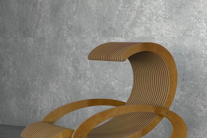 3D моделирование и визуализация мебели 16 - kwork.ru