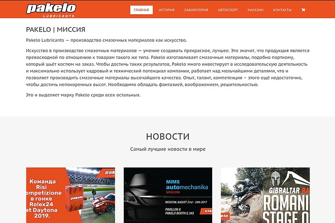 Создание сайта-визитки на WordPress 3 - kwork.ru